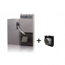 Nibe-Biawar, Pellux 200 Touch 20 kW su 300l bunkeriu + kamino traukos reguliatorius