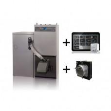 Nibe-Biawar, Pellux 200 Touch 20 kW su 300l bunkeriu + Econet + kamino traukos reguliatorius