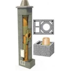 Kolekt kaminas + 2 ventiliacijos