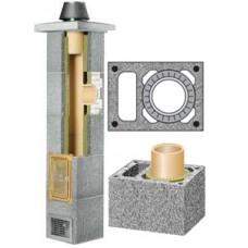 Schiedel kaminas su ventiliacija